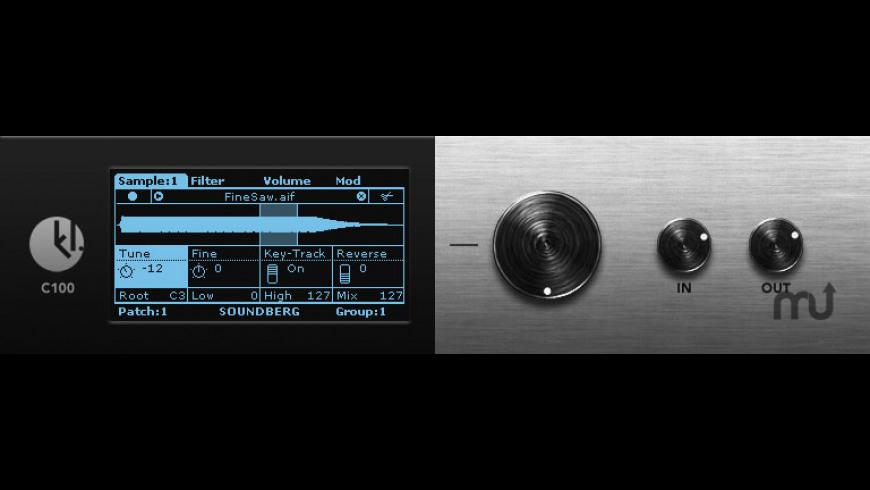 Soundberg for Mac - review, screenshots