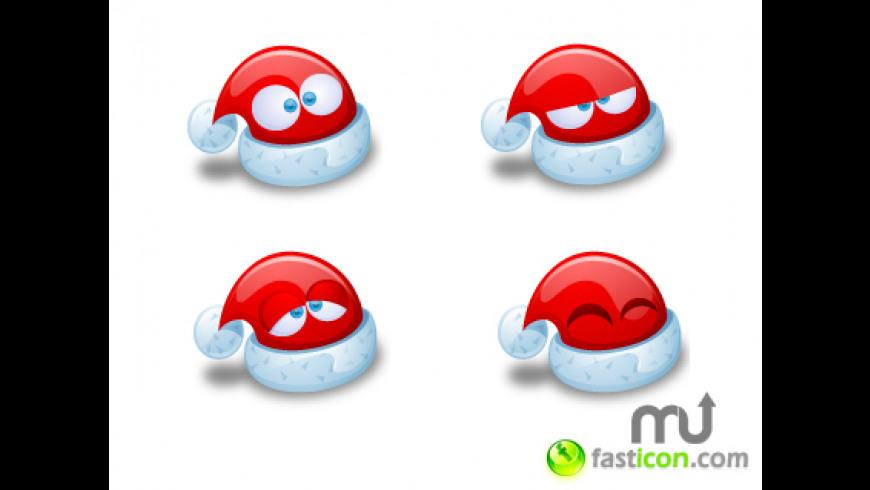 Santa Claus Hat Icons for Mac - review, screenshots