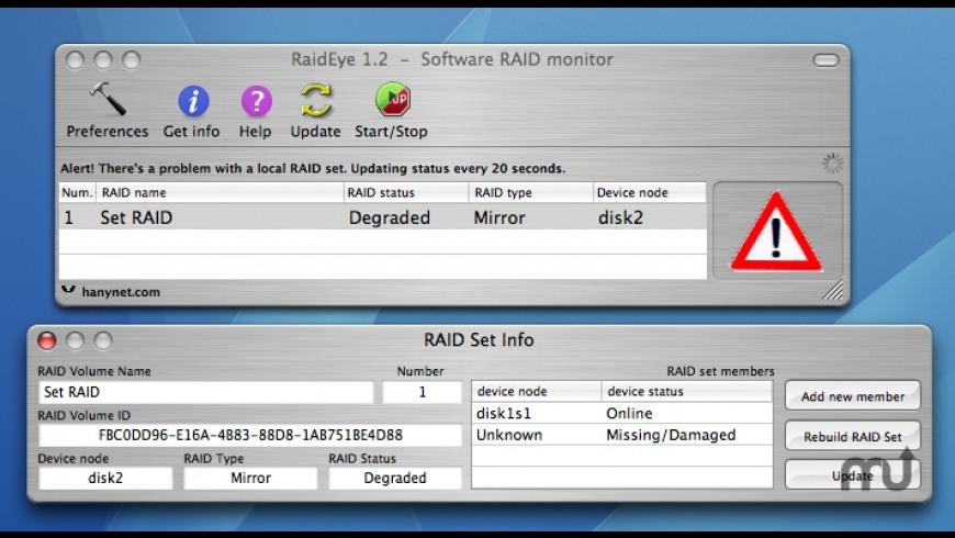 RaidEye for Mac - review, screenshots