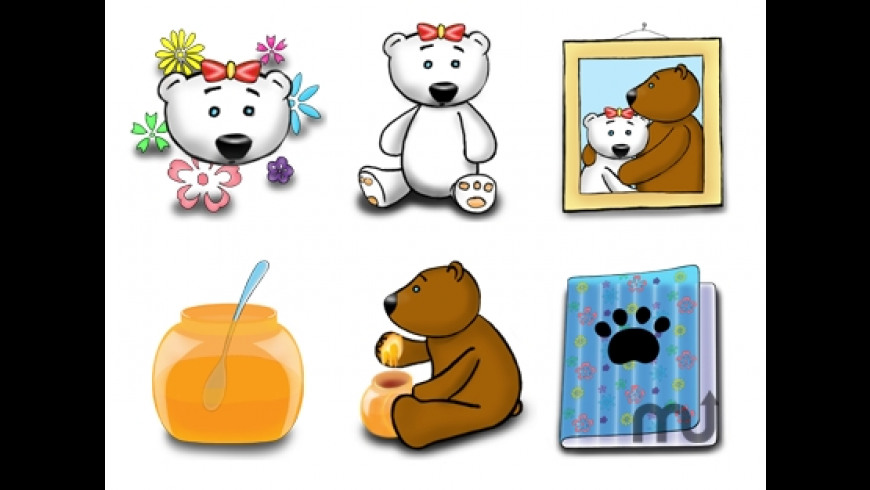 Teeny Bears icons for Mac - review, screenshots