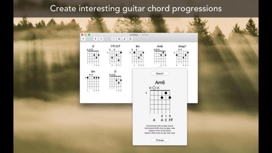 ChordMate for Mac - review, screenshots