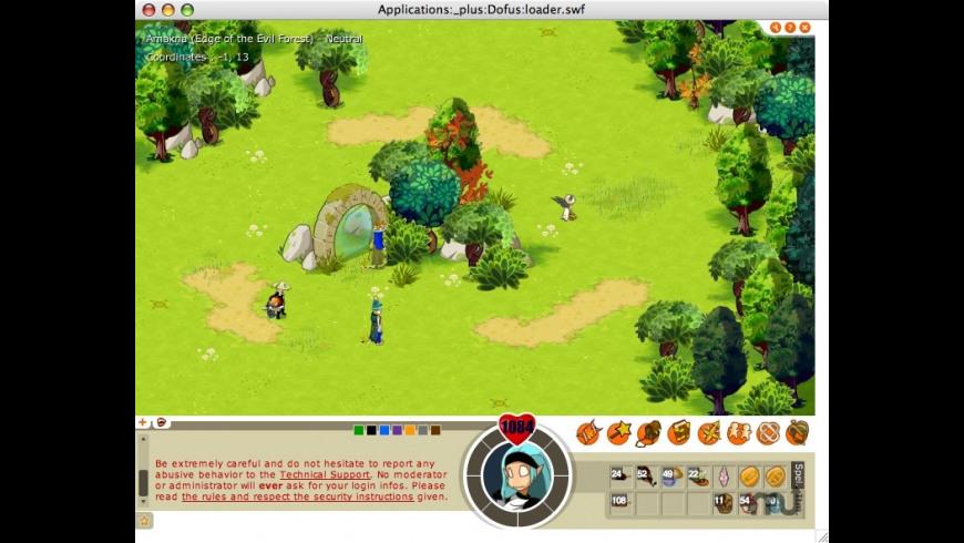 iDofus for Mac - review, screenshots