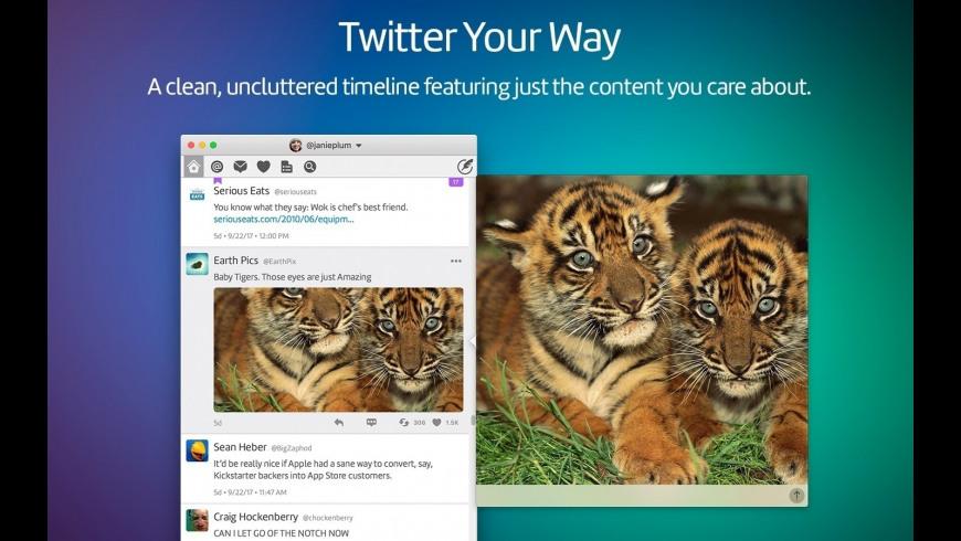Twitterrific 5 for Twitter for Mac - review, screenshots