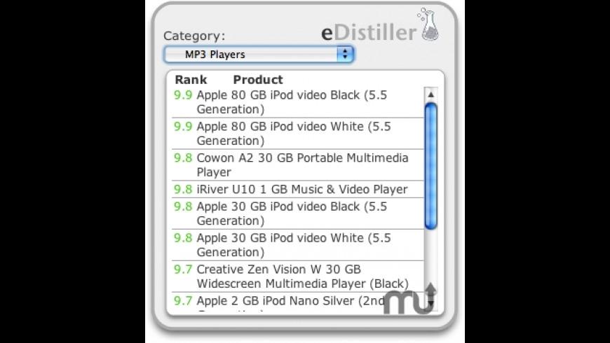 eDistiller for Mac - review, screenshots