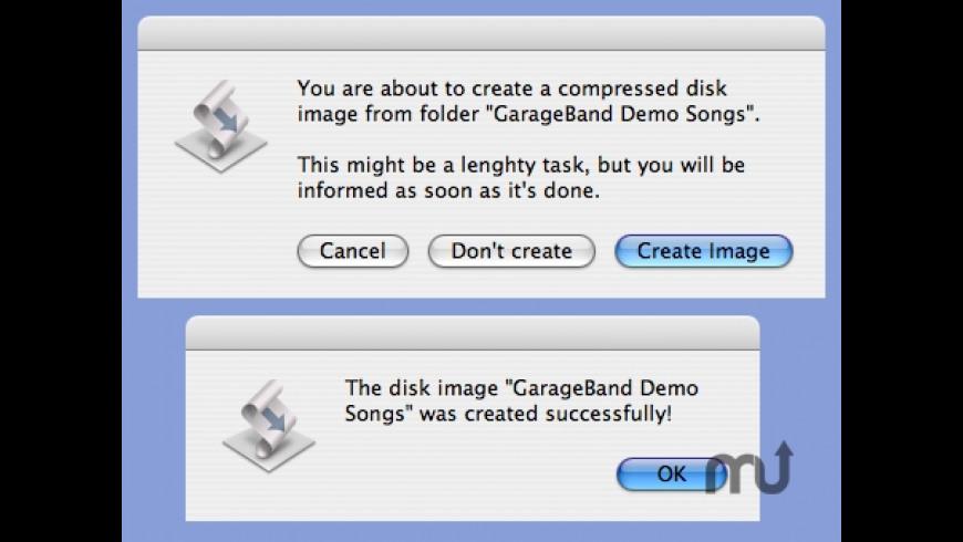CreateDiskImage for Mac - review, screenshots