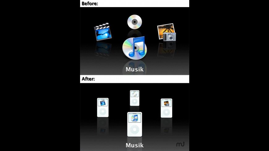 Front Row iPod Mod for Mac - review, screenshots