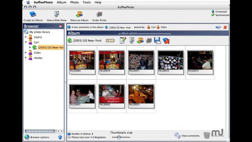 KoffeePhoto for Mac - review, screenshots