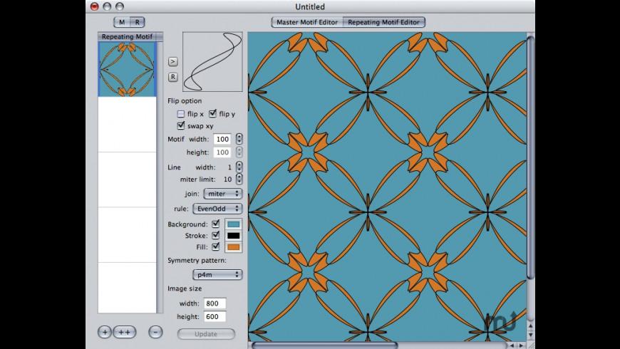 Repeating Motif Generator for Mac - review, screenshots