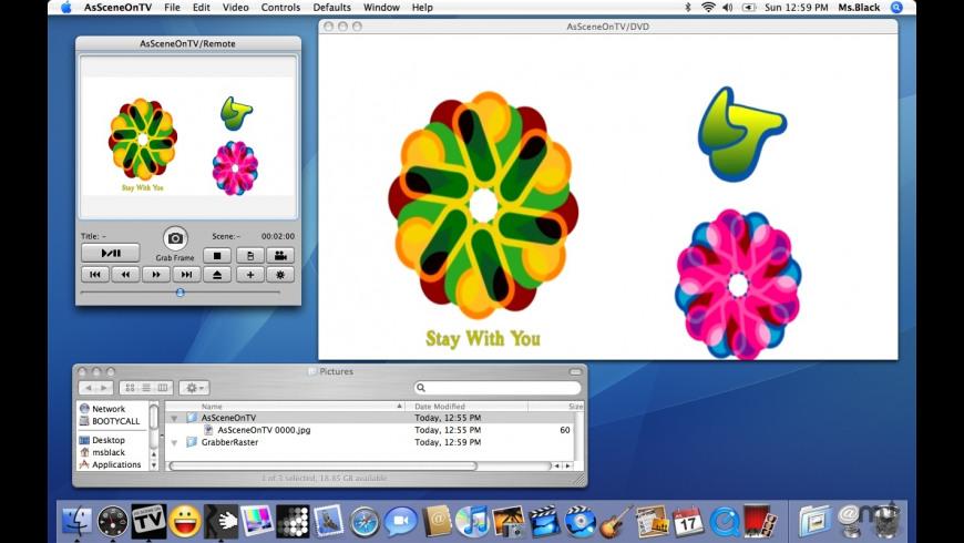 AsSceneOnTV for Mac - review, screenshots