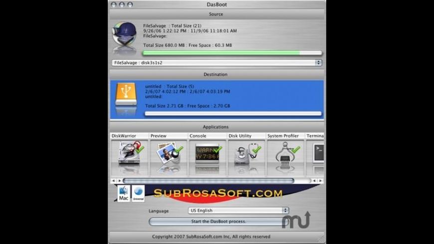 DasBoot for Mac - review, screenshots