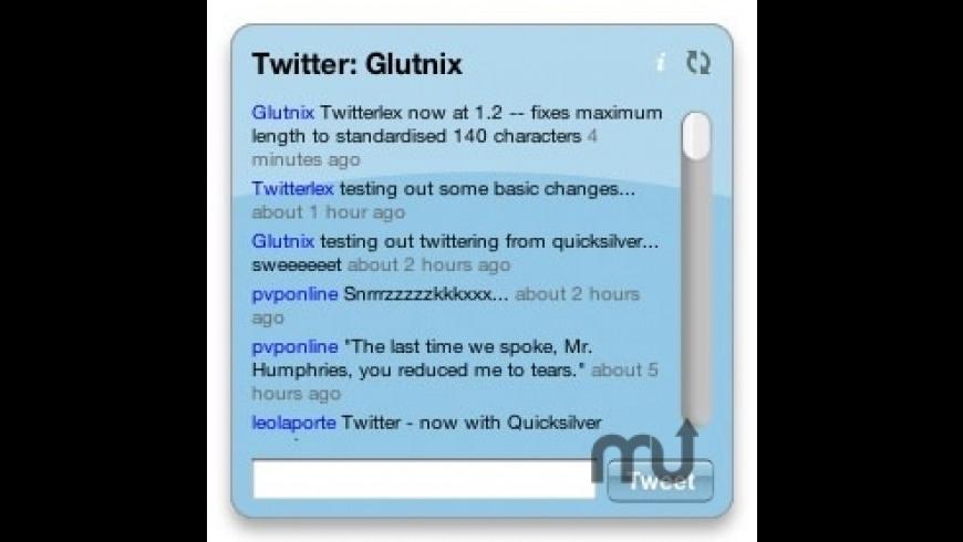Twitterlex for Mac - review, screenshots