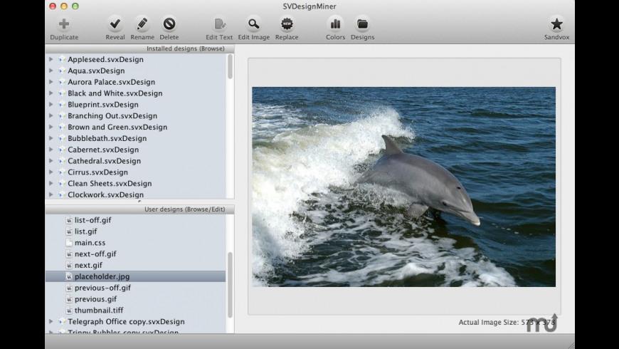 SVDesignMiner for Mac - review, screenshots