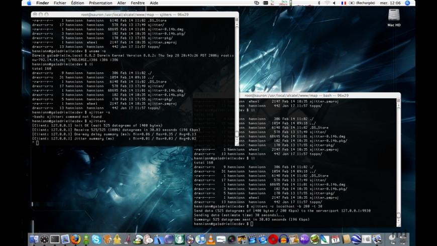 SJitter for Mac - review, screenshots