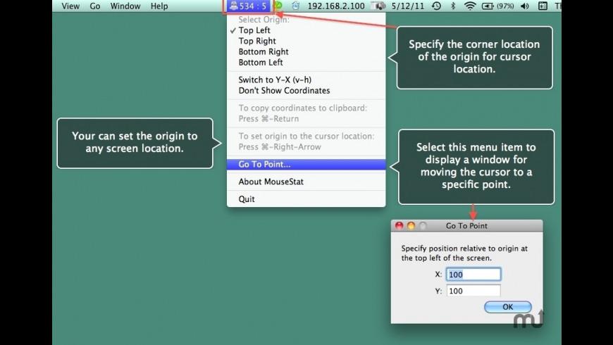MouseStat for Mac - review, screenshots
