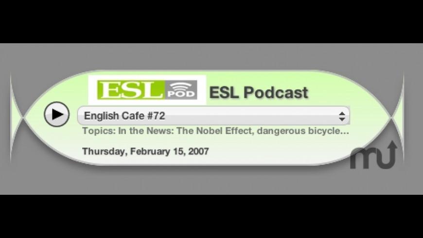 ESL Podcast for Mac - review, screenshots