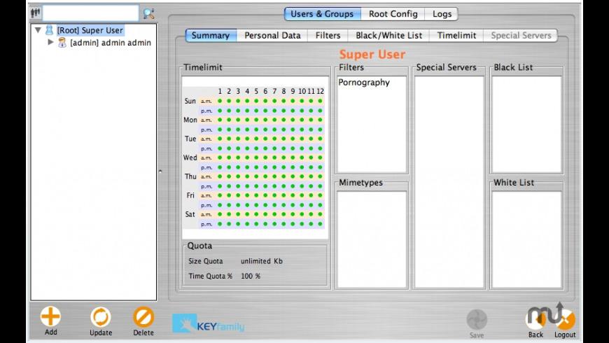 KEYfamily for Mac - review, screenshots