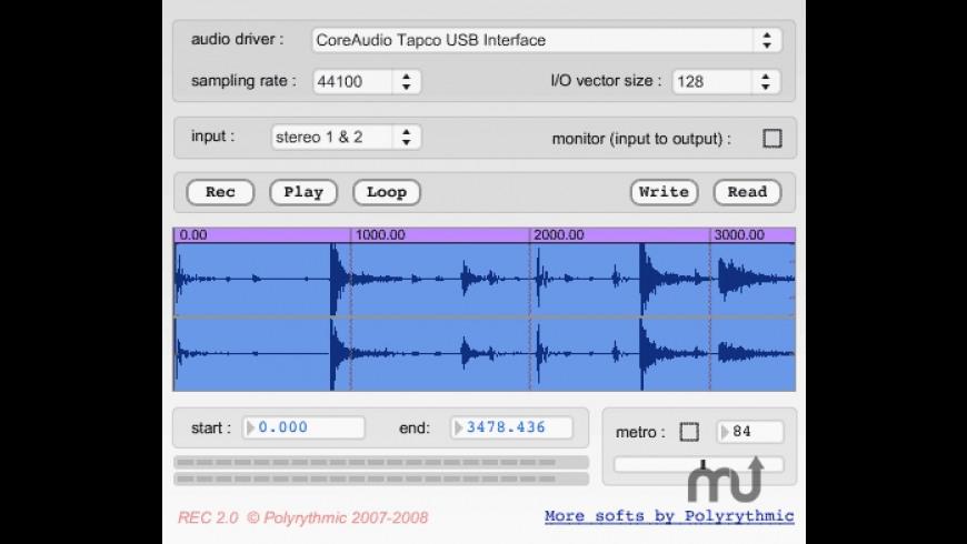 REC for Mac - review, screenshots