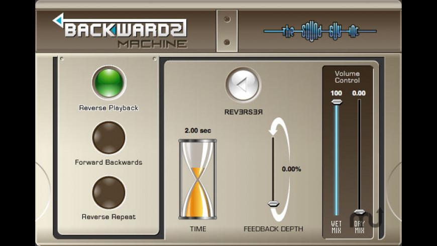 Backwards Machine for Mac - review, screenshots