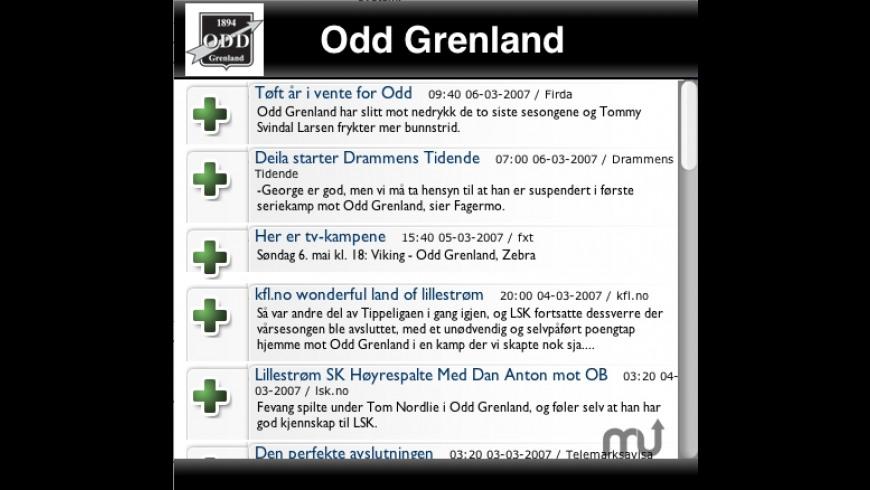 Footballfeed Widget for Mac - review, screenshots