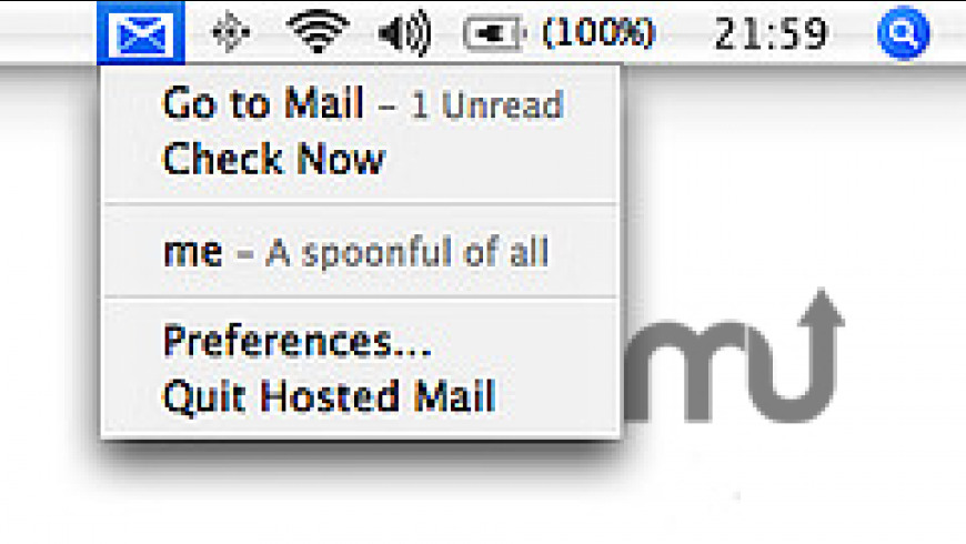 Google Hosted Mail for Mac - review, screenshots