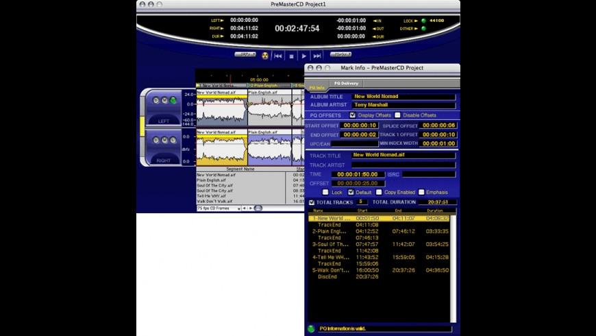 PreMaster CD for Mac - review, screenshots