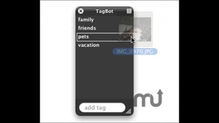 TagBot for Mac - review, screenshots
