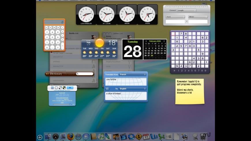 NumericRoman Widget for Mac - review, screenshots