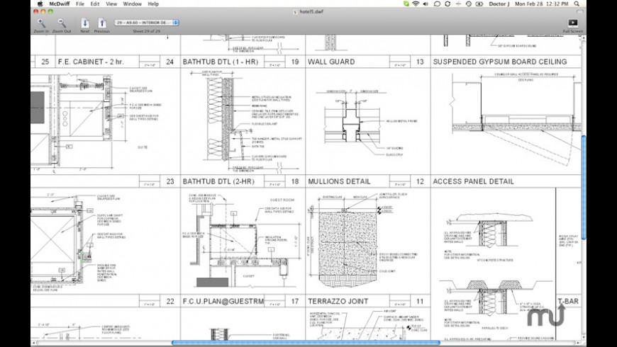 McDwiff for Mac - review, screenshots