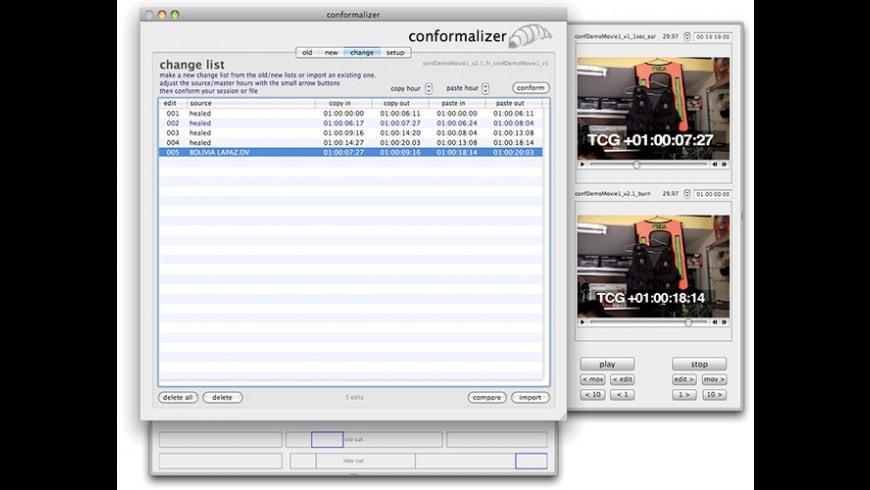 conformalizer for Mac - review, screenshots