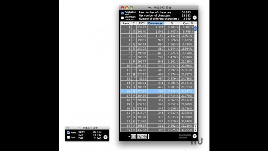 CaraCaraC for Mac - review, screenshots