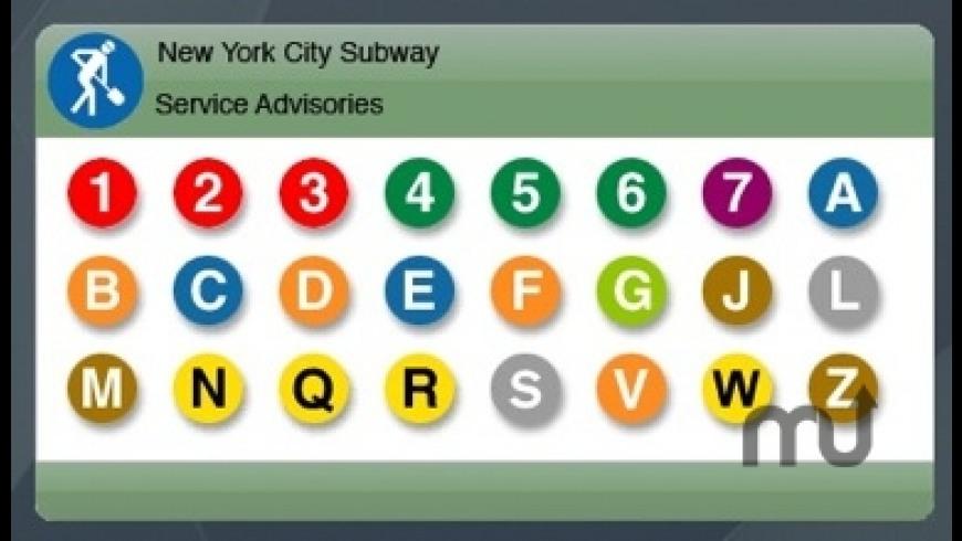 New York City Subway Advisor for Mac - review, screenshots