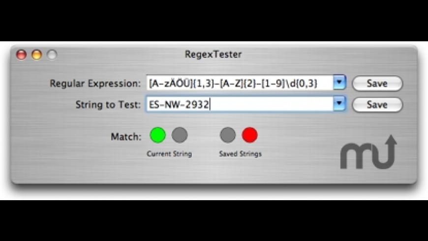 RegexTester for Mac - review, screenshots