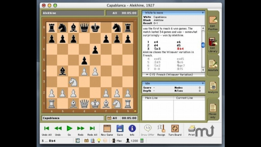 HIARCS chess engine 13 2 Free Download for Mac | MacUpdate