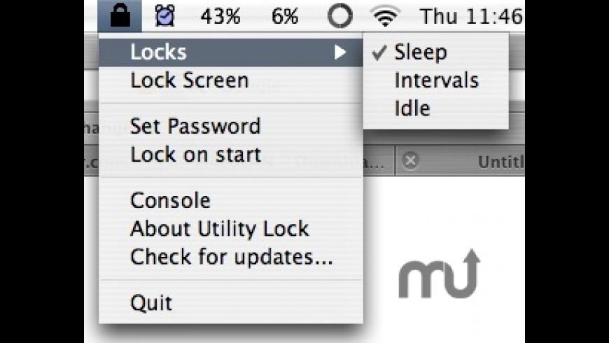 Utility Lock for Mac - review, screenshots