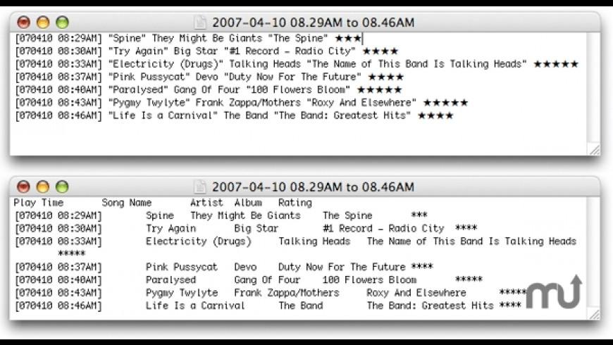 Trackographer for Mac - review, screenshots