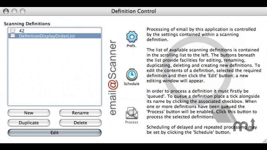 email@Scanner for Mac - review, screenshots