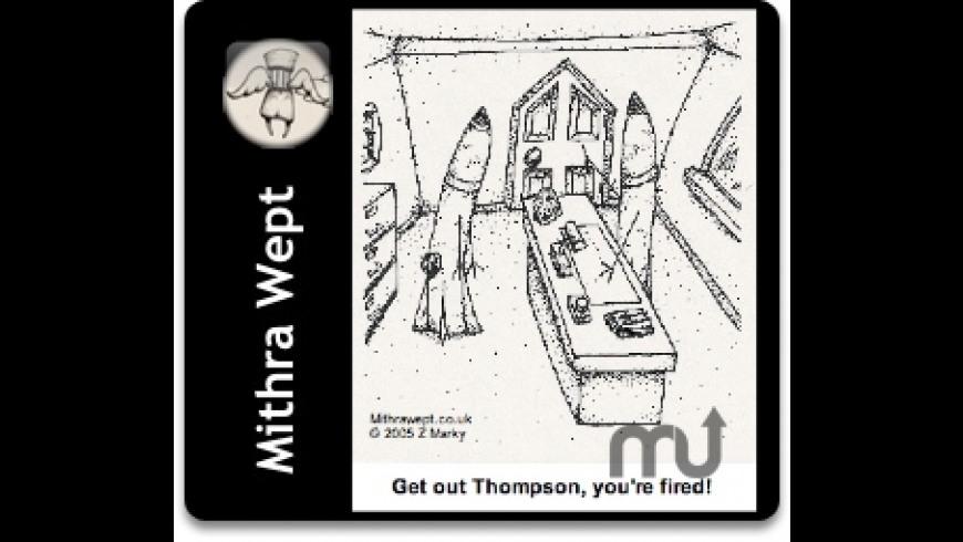Mithra Wept Cartoons Widget for Mac - review, screenshots