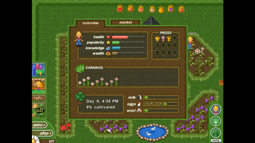Alice Greenfingers for Mac - review, screenshots