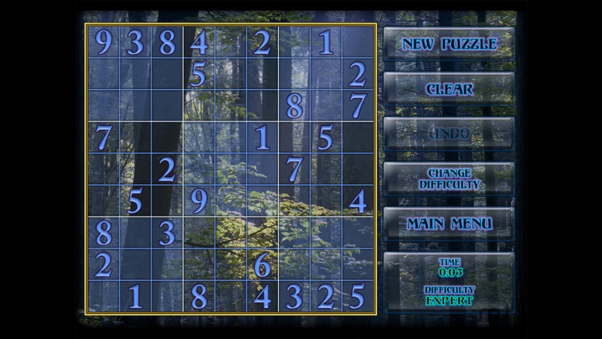 Mystical Sudoku for Mac - review, screenshots
