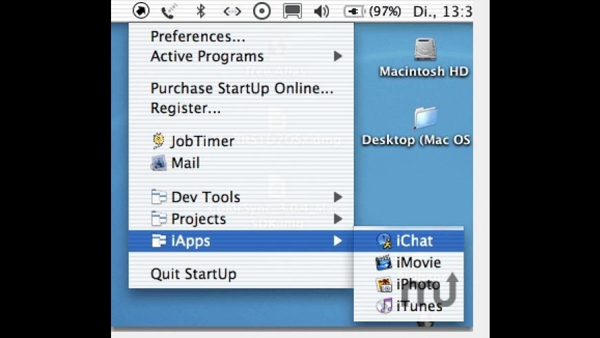 StartUp for Mac - review, screenshots