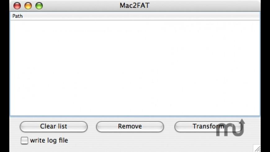 Mac2FAT for Mac - review, screenshots