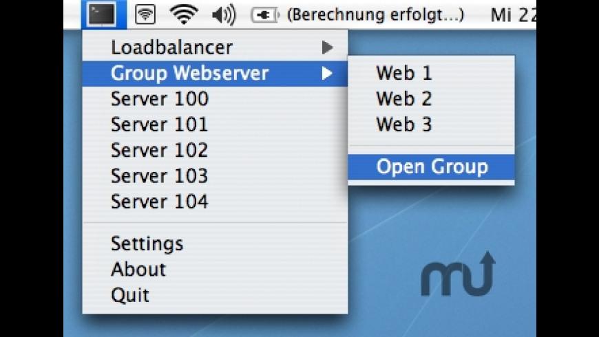 sshOpener for Mac - review, screenshots