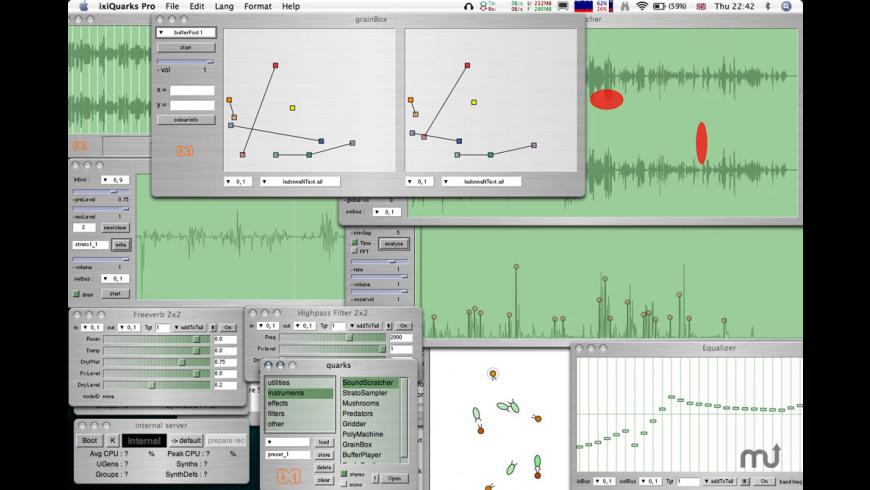 ixiQuarks for Mac - review, screenshots