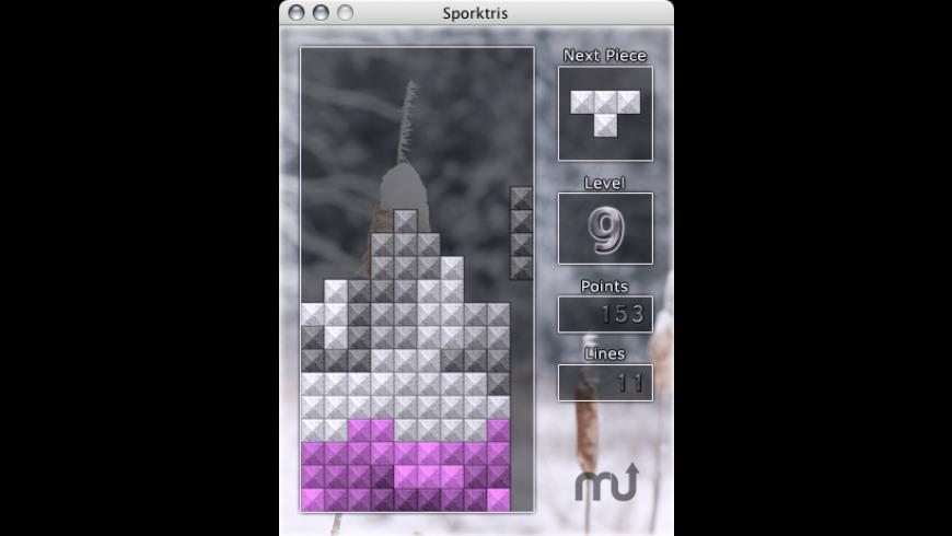 Sporktris for Mac - review, screenshots