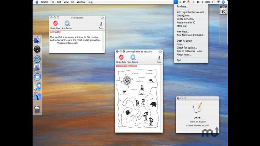 Jotter for Mac - review, screenshots