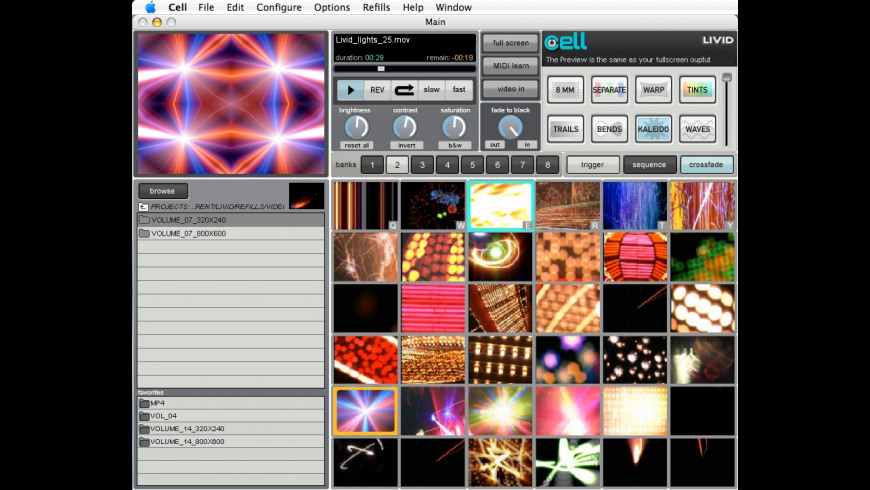 Cell for Mac - review, screenshots