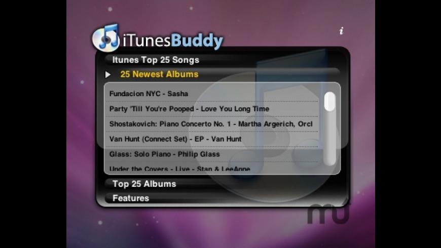 iTunes Buddy for Mac - review, screenshots