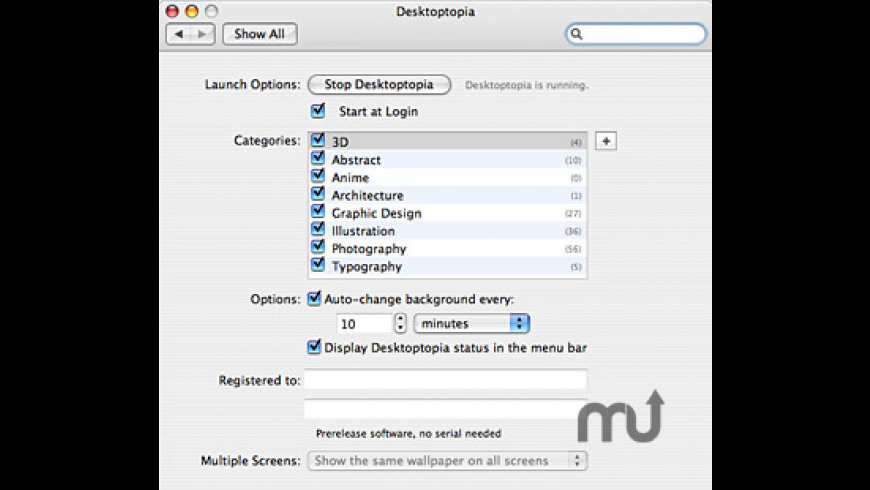 Desktoptopia for Mac - review, screenshots