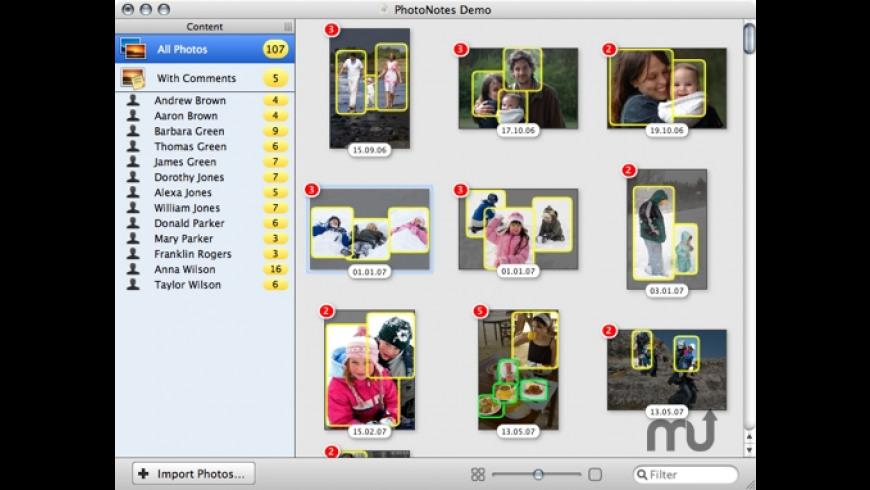 PhotoNotes for Mac - review, screenshots