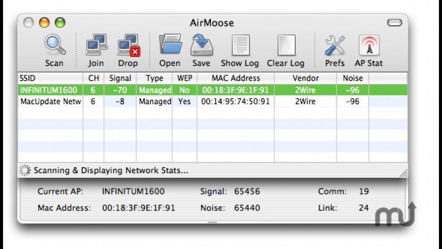 AirMoose for Mac - review, screenshots